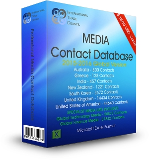 PR Media Contact Databases